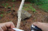 Construire un feu dans les conditions de pluie/Wet