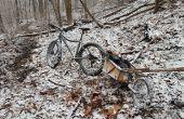 Modification de la remorque pour vélo de graisse de vélo