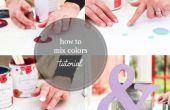 Comment mélanger les couleurs de peinture