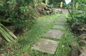 Comment construire des dalles et poser le chemin d'accès/patio/trottoir