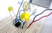 Simple (et sale) Pulse Width Modulation (PWM) avec minuterie 555