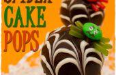 Comment faire pop gâteau araignée avec bandes