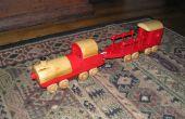 Construire un Train de jouet à lutte pour ce qui est droit
