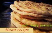 Recette de naan - Naan maison doux moelleux beurre