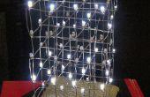 Cube de Charlieplex LED 3D de lumières d'arbre de Noël