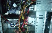 Gestion des câbles PC sur un cas de mauvais/petite