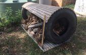 Pays vivant - garder votre bois sec