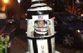 ROCKET MAN : Costume d'Halloween fusée Saturne 5