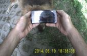 Tutoriel collier chien de QR code, test vidéo