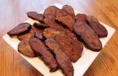 Crêpes au chocolat Bacon Poppers