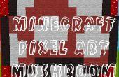Champignon de Pixel de Minecraft