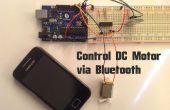 Arduino - moteur à courant continu commande via Bluetooth
