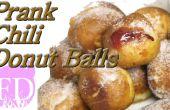Blague drôle Extra Hot Chili beignets boules recette