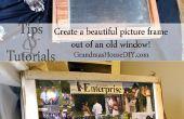 Comment faire une fenêtre dans un cadre photo !