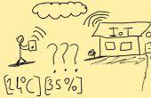 Contrôler la valeur de température et d'humidité de votre site Web (Internet of Things consept)