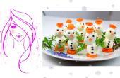Bonhomme de neige bricolage oeuf / bricolage Noël