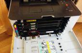 Réinitialisation d'unité de tambour de Imaging DIY imprimante Laser Samsung CLP-365 w