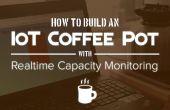 IoT Coffee Pot moniteur