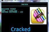 Fichier - cracker mot de passe numérique « Rar » fichier de commandes