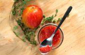 Rôti de confiture de prune & thym rouge
