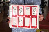 Concevoir des applications mobiles à l'aide de ce tableau blanc prototypage