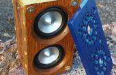 Haut-parleurs Bluetooth steampunk