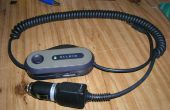 De puissance de batterie convertir transmetteur FM Belkin Car Power