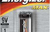 Comment ouvrir une batterie 9v