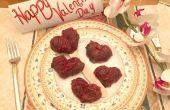 Comment des Bouquets de fruits faire la Saint-Valentin au chocolat recouverte de fraises bonbons coeurs