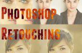 Retouche Photoshop | Lissage de la peau, l'amélioration de le œil et Ratio Divine
