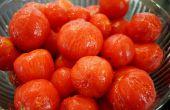 Comment la peau de tomates