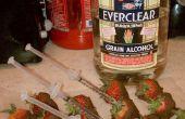 La nouvelle ère de fruits et d'alcool.  Chocolat fraises croisement injectés avec de l'alcool.  Parfait pour les parties, ou juste amusant à faire et à consommer.