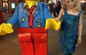 Costume de figurine Lego Zombie