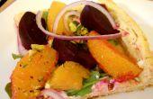 Betterave salade tarte