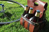Cuir de bière & transporteur vin