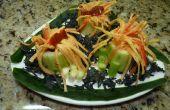 Anemona Surime et concombre