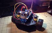 Robot d'avoider objet simple à l'aide de la châssis Actobotics Runt Rover Peewee et un Arduino