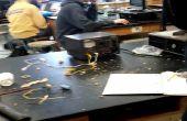 Expérimentation de l'accélérateur électromagnétique + fonderie d'aluminium