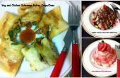 Assortiment de crêpe beurre / assorties beurre Dosa