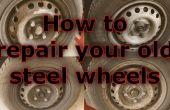 Renouveler les vieilles roues en acier