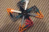Étoiles de ninja LEGO et Knex