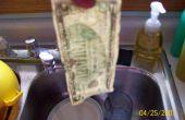 Comment faire pression sur les billets d'un dollar