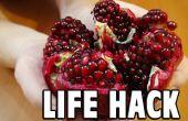 Hack de nourriture de la vie : Comment épépinez une grenade