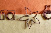 Comment faire un signet avec fil de cuivre | BRICOLAGE à fournitures scolaires