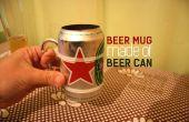 Chope de bière d'une bière peut