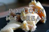 Comment faire la crème glacée Popcorn