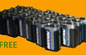 Comment obtenir gratuitement 9 volts Batteries (légalement)