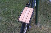 Acier et bois porte-vélos Cargo