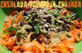 Ensalada Pelirroja Enojada - salade de carotte crue