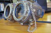 Lunettes de laboratoire steampunk